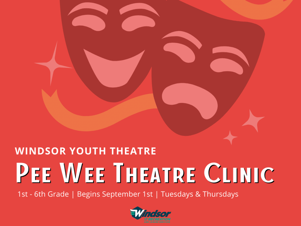 Windsor Youth Theatre: Pee Wee Theatre Clinic image