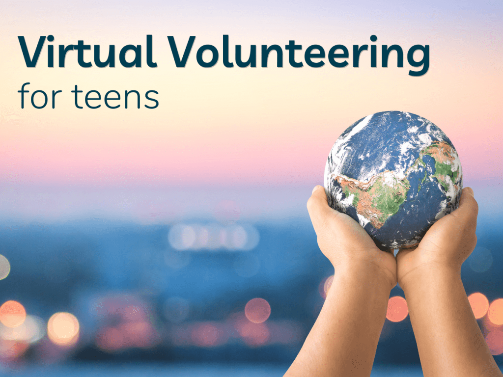 Virtual Volunteering for Teens image