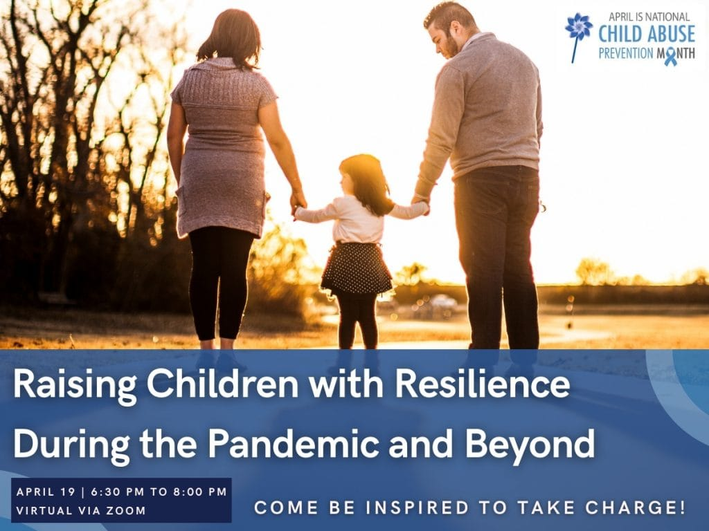 Parent Webinar: Raising Children with Grit and Resilience During the Pandemic and Beyond image